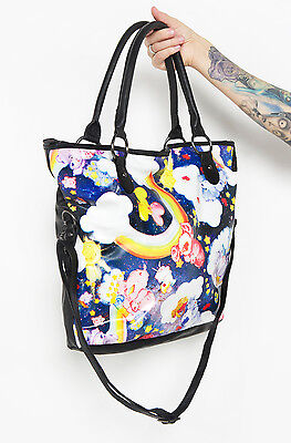 IRON FIST NIGHTS FOR STARING CARE BEAR TOTE BAG
