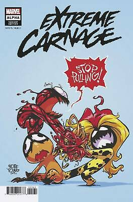 Extreme Carnage Alpha #1 Young Variant Cover