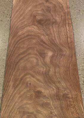 Walnut Stump Wood Veneer 4 Sheets 24 X 11.5 7 Sq Ft