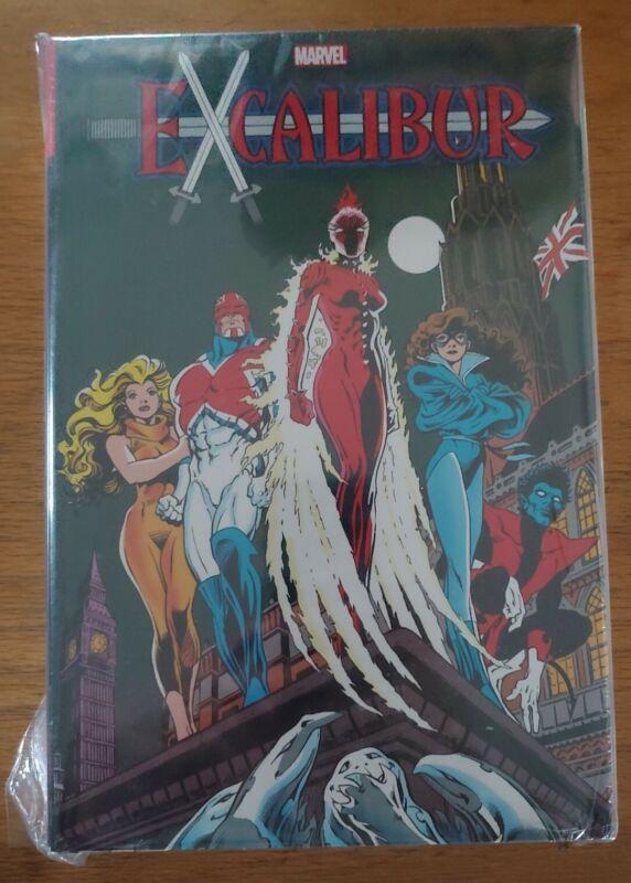 EXCALIBUR Omnibus Vol. 1 1st issue cover NEW sealed HC Marvel Comics OOP DM