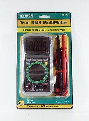 Extech Instruments True-rms Digital Multimeter 22-816 New