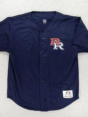 Round Rock Express Minor League Replica Baseball Jersey (Youth Medium) Blue