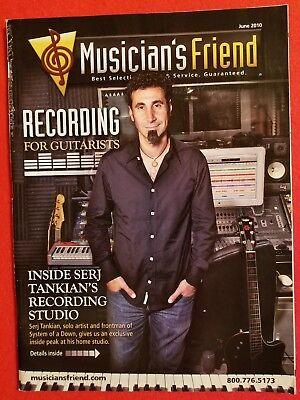 Musicians Friend Serj Tankian   System Of A Down Catalog Magazine Guitar Drums