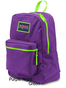 100% Authentic Jansport School Backpack Superbreak T501 Doodle, Botanical