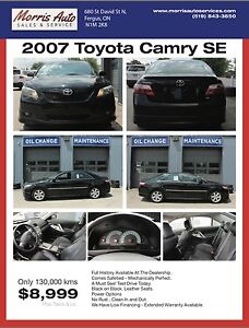 2007 Toyota Camry SE - Great Reliable - Leather Seats
