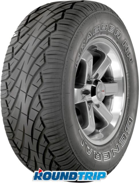 4x General Tire Grabber HP 255/60 R15 102H FR, OWL, M+S