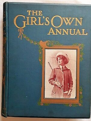THE GIRLS OWN ANNUAL,c,1900,WOMENS FASHiON,HATS,DRESSES,ARTICLES,MANNERS,768pp