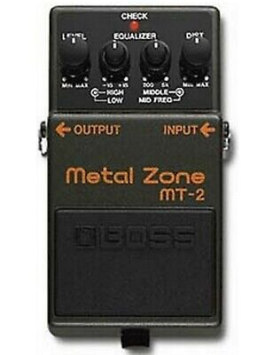 Boss MT-2 Metal Zone Distortion - Guitar Effects Pedal