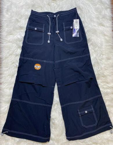 New Macgirl Women's Pants Mac Gear Size 3 Navy Blue Wide leg