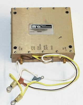 Milcom International Pa850-19-100l Amp -wireless Amplifier Microwave Transmitter