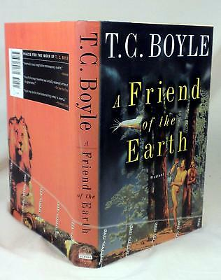 A FRIEND OF THE EARTH, T.C. Boyle, SIGNED (title page), 1st/1st, Like New,