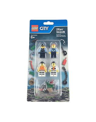 New 2016 LEGO City #853570 Police/Prison Minifigure Accessory Set (RETIRED)
