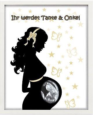 Bilderrahmen personalisiert - Baby