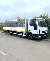Iveco Eurocargo 75E16 EEV 7.5 T 22' Dropside Truck. 2013/13.