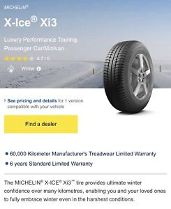 Michelin X-Ice X13 Snow Tires 225/40R18 92H