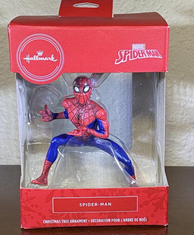 Hallmark Christmas Ornament Marvel Spiderman Spider-Man New In Package