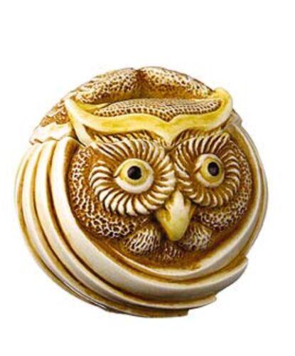 MOSTEL the OWL # TJRPOW HARMONY KINGDOM ROLY POLYS ARTIST ADAM BINDER