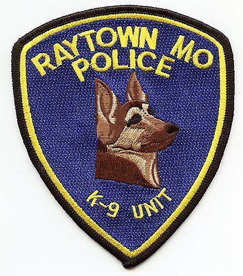 RAYTOWN MISSOURI MO K-9 POLICE PATCH