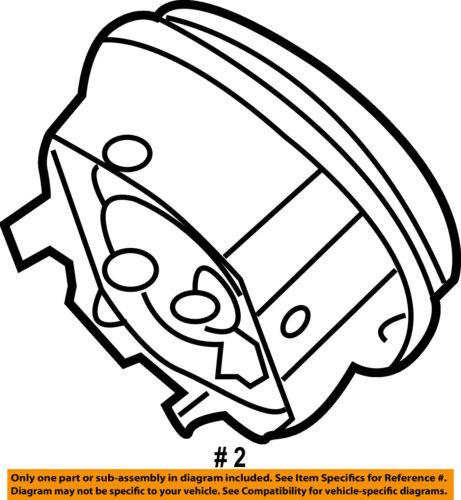 Ford Oem Mustang Airbag Air Bag Driver Steering Wheel Inflator