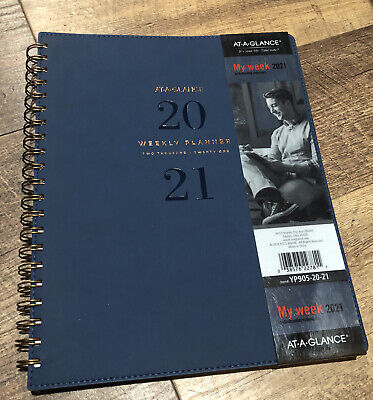 2021 Weekly Monthly Planner By At-a-glance 8-12 X 11 Large Wirebound Sig...