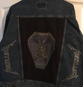 Metallica Pit Boss Denim Battle Jacket