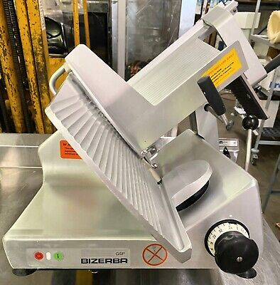 Bizerba Gsp H Manual Meat Cheese Commercial Deli Slicer