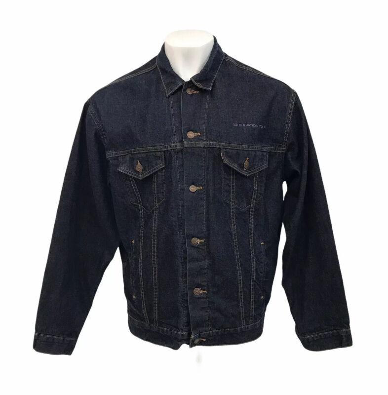 Levi's U2 Elevation Tour Denim Jacket Merchandise 70507-4811 Mens XL