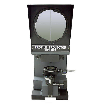 Profile Projector Optical Comparator Digital Measuring Micrometer 250mm Screen