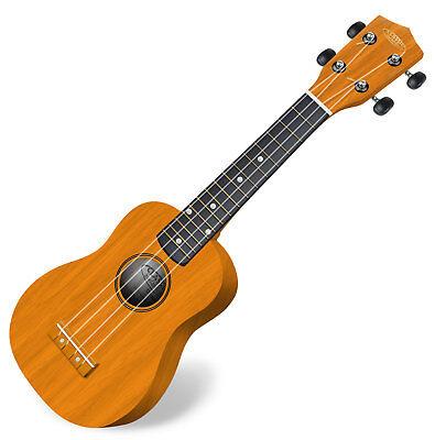 Superklasse Holz Ukulele Hawaii Gitarre Ukulele Sopran Mensur Natur Holz Neu