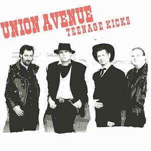 UNION-AVENUE-Teenage-Kicks-CD-EP-Johnny-Cash-Style-Rockabilly-CD-NEW