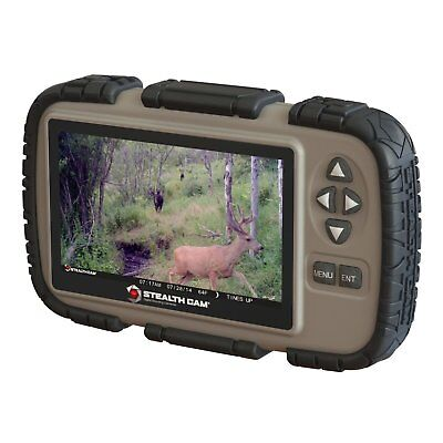 """Stealth Cam CRV43 4.3"""" LCD Screen Game Photo Viewer & SD Card Reader for Hunting"""