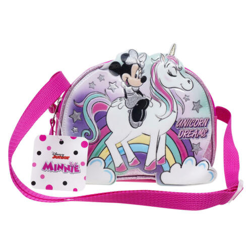 Minnie Mouse Crossbody Bag, Pink