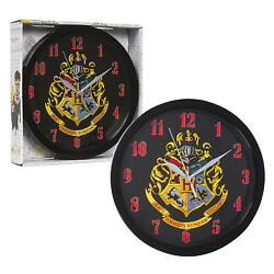 Harry Potter 10 Round Wall Clock in Open Window Box