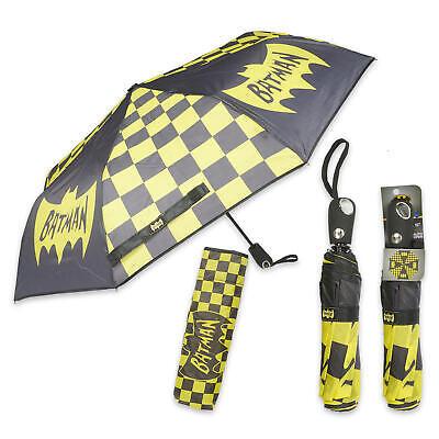 DC Comics Batman Folding Umbrella Auto Open (Dc Comics Umbrella)