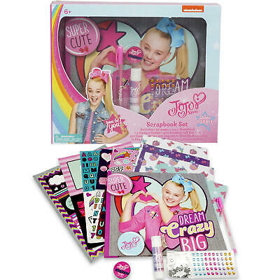 NEW Jojo Siwa Scrapbook SET Sequins, Stickers & More Art Activity -