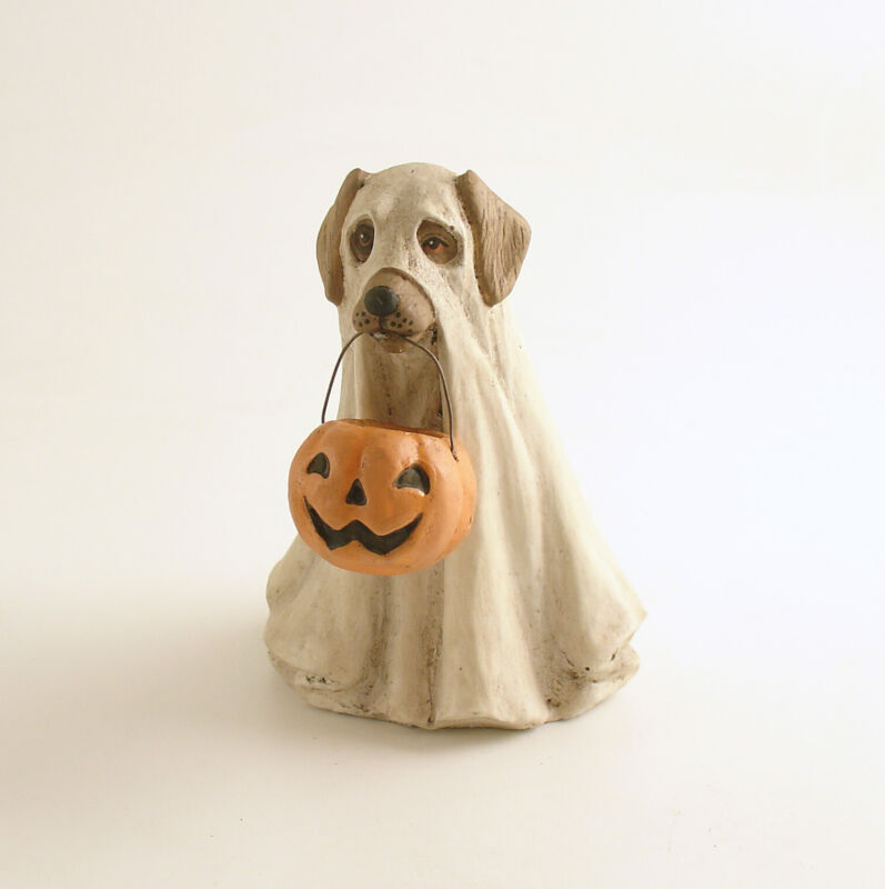 Halloween Decoration Ghost Dog Bethany Lowe