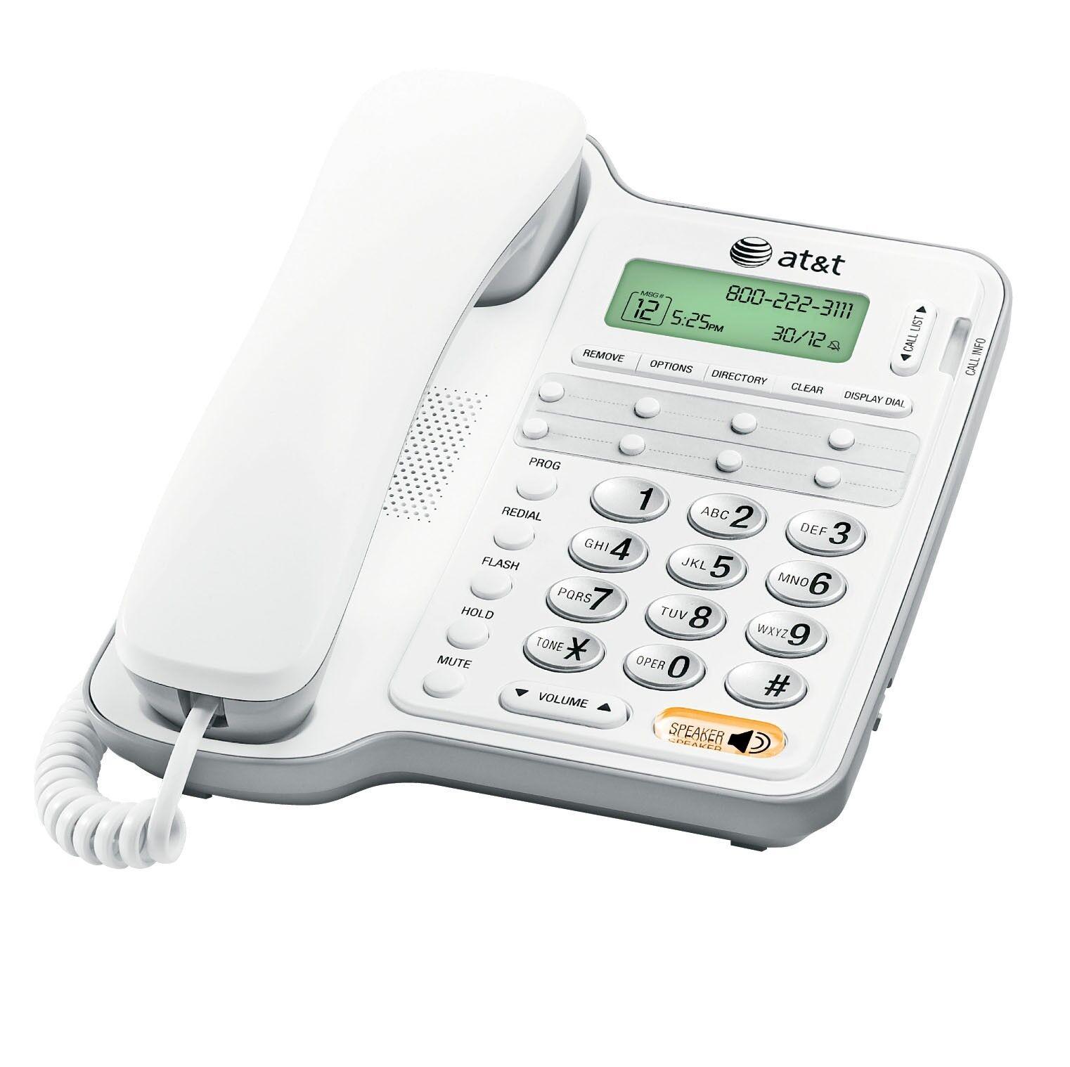 AT&T Att-cl2909 Speakerphone, Caller Id/call Waiting, Wal...