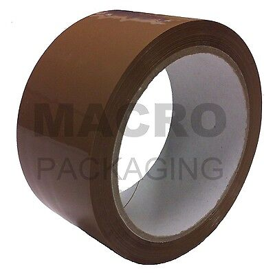 6 rolls packing tape 48mm x 66M (2