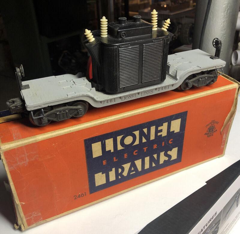 LIONEL 2461  TRANSORMER CAR-ORIGINAL-BOX