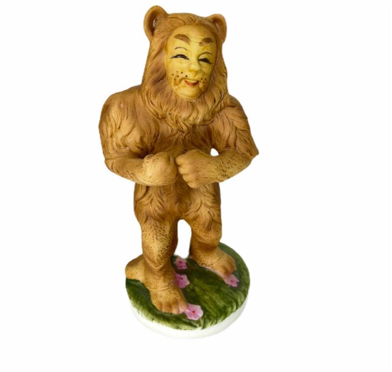 Wizard Of Oz Lion Porcelain Figurines Seymour Mann Collection 1974 Vintage