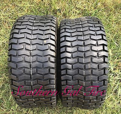 2- 23x9.50-12 23 950 12 Lawn and Garden Riding Mower Tractor Tires 2395012 4Ply