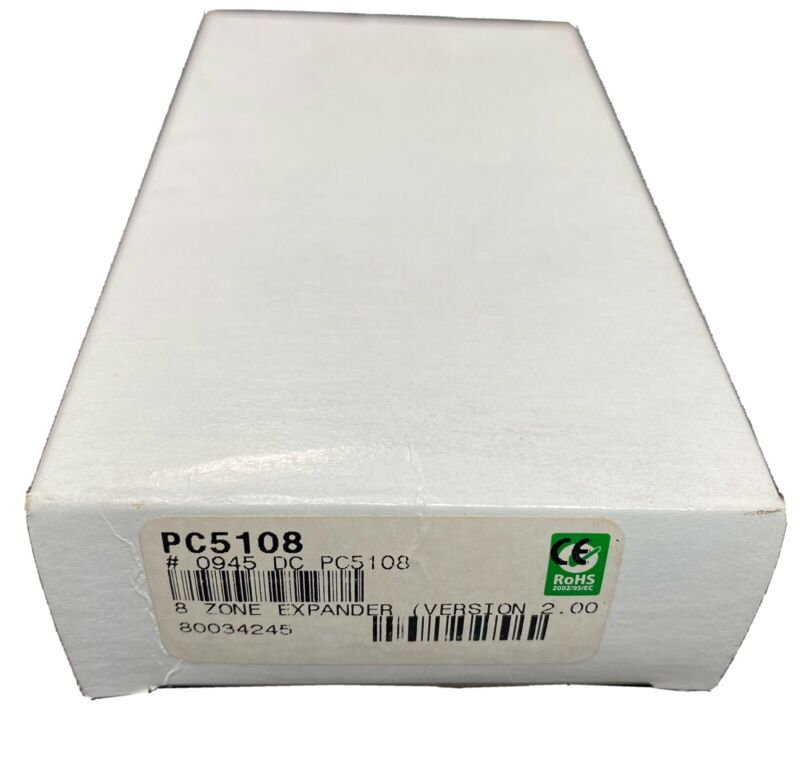 DSC 8-Hardwire Alarm Zone Expander PC5108 PowerSeries - Version 2.00