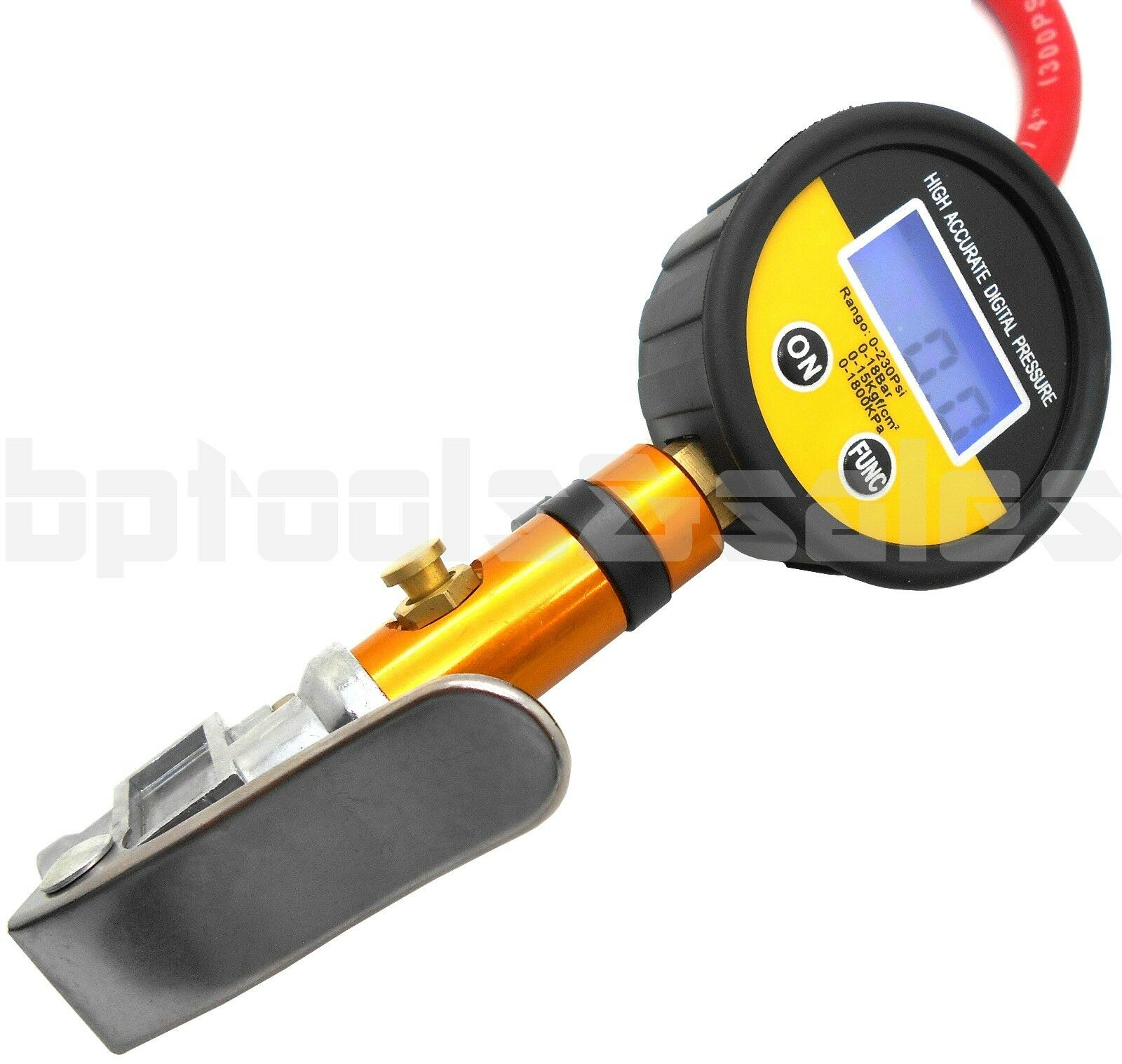 Air tire inflator with high accurate lcd digital pressure for Mercedes benz tire inflator