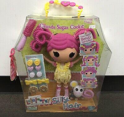 NEW LALALOOPSY SILLY HAIR CRUMBS SUGAR COOKIE DOLL FULL SIZE NWT!