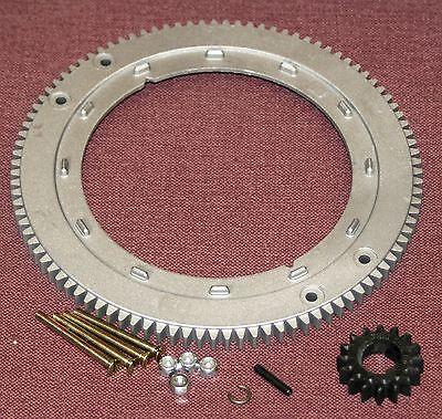 Flywheel ring gear replaces Briggs & Stratton Nos. 392134, 399676, & 696537.