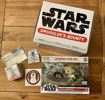 Funko Pop Star Wars Smugglers Bounty Box Dagobah Theme NEW