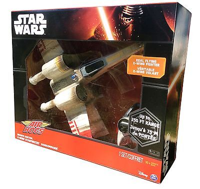 Star Wars eps. 7 Force Awakens X-Wing Fighter RC Drone Air Hogs - New In Box for sale  Turlock