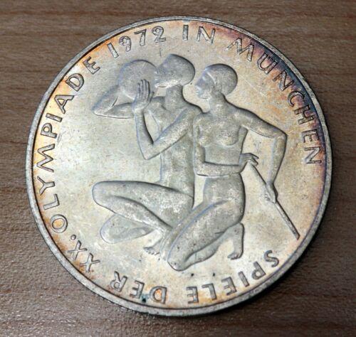 1972 G Germany Federal Republic 10 Mark Silver Munich Olympic Games