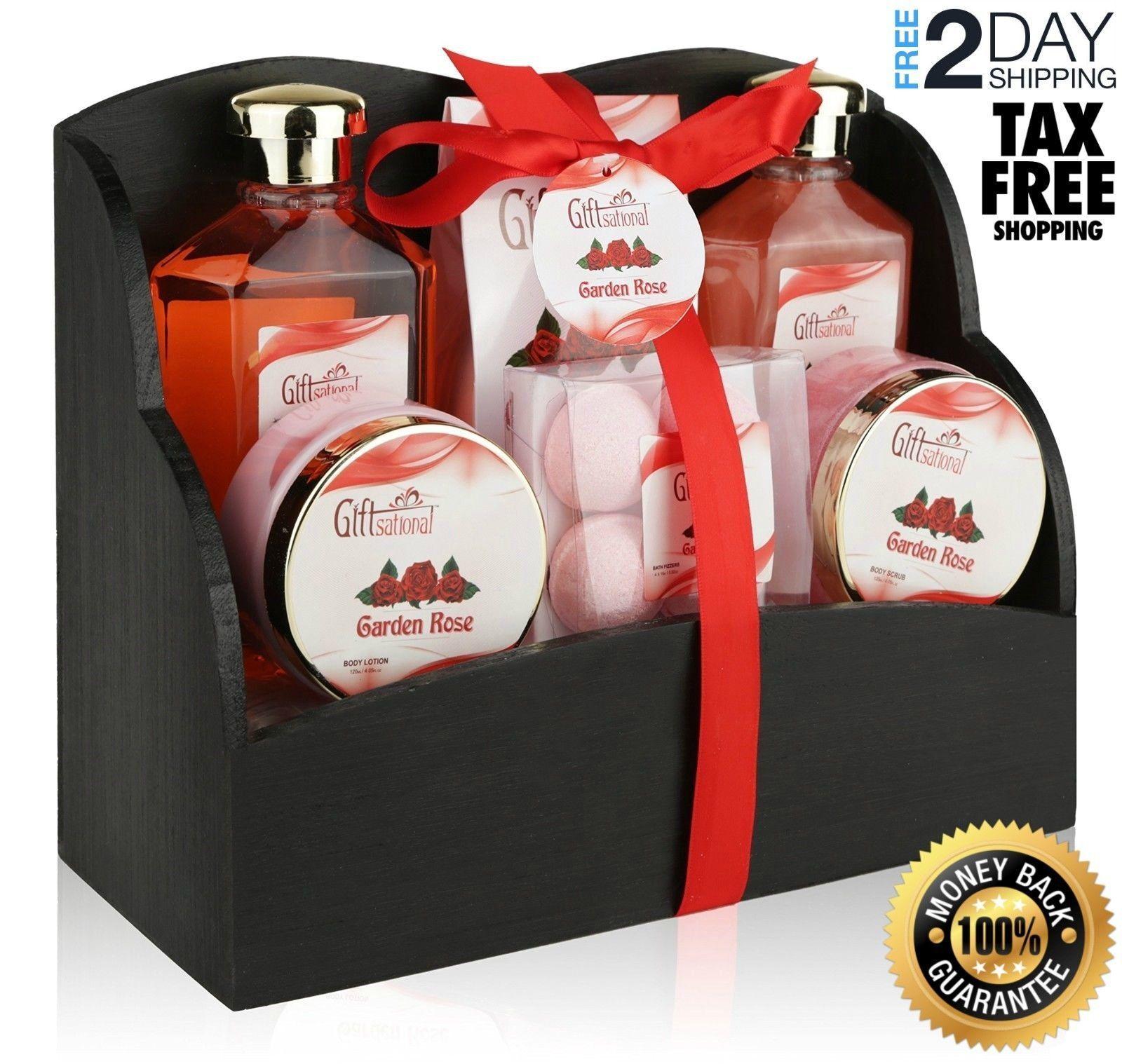 Valentines Day Spa Set Bath & Body Works Gift Basket Lotion