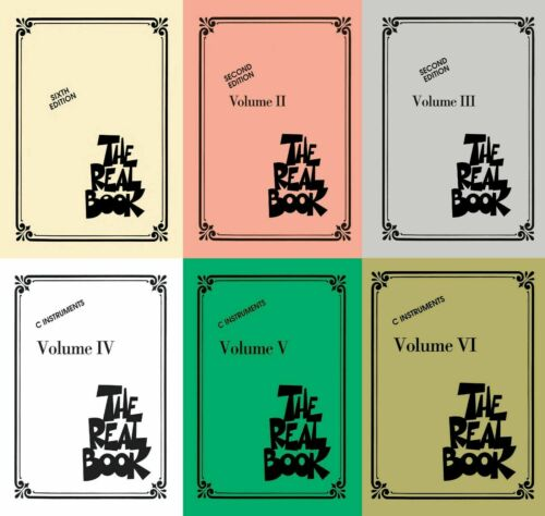The Real Book Collection 1-6 - C Edition